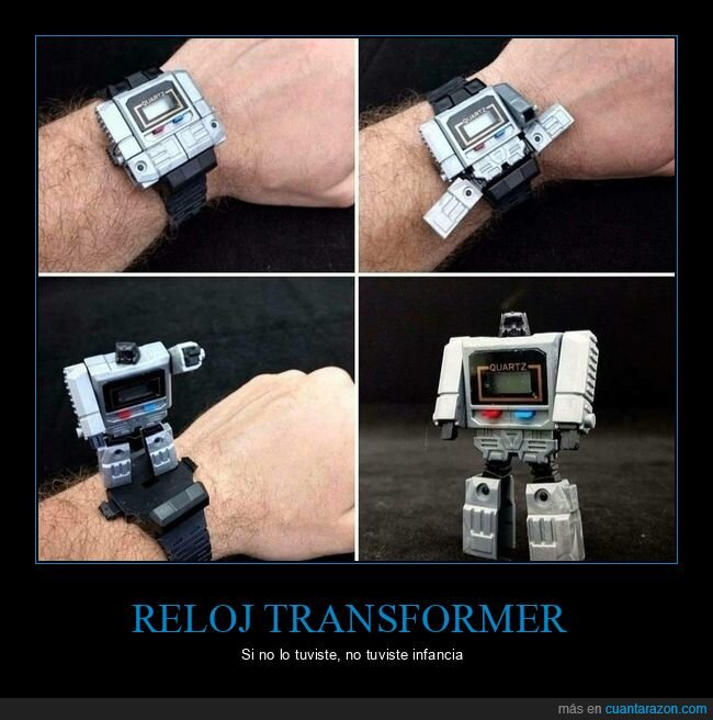casio,reloj,transformers
