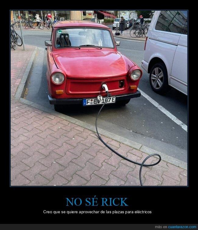 coche,eléctrico,enchufado,scam