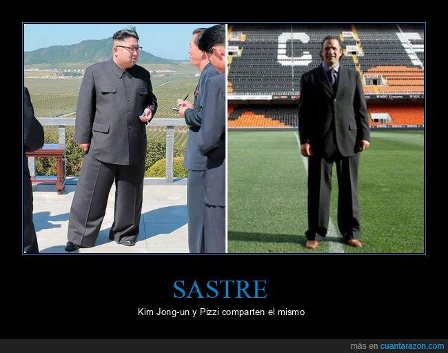 compartir,Kim Jong-un,Pizzi,sastre,traje