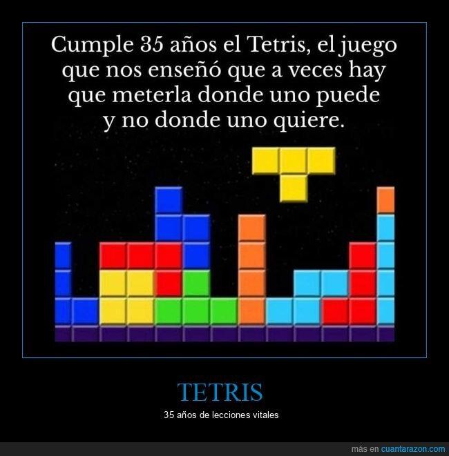 meter,poder,querer,tetris