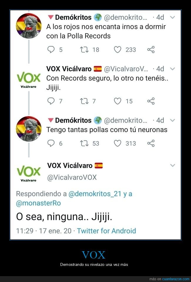 fails,neuronas,políticos,vox