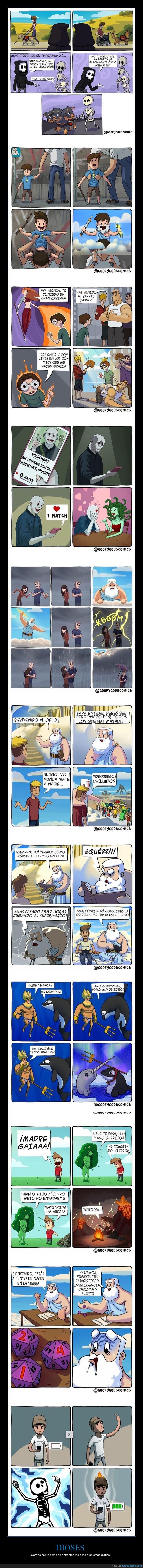 cómics,dioses,problemas