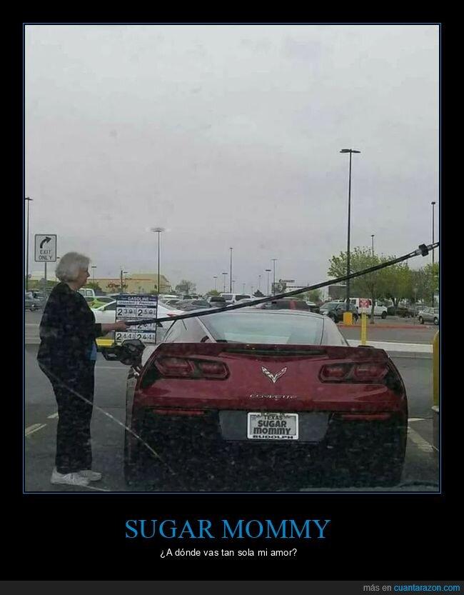 coches,gasolinera,matrícula,sugar mommy,wtf