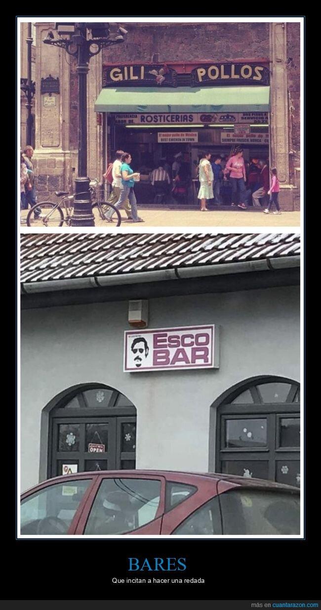 bares,nombres