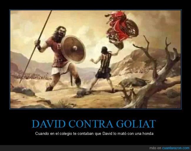 absurder,david,goliat,honda,motos