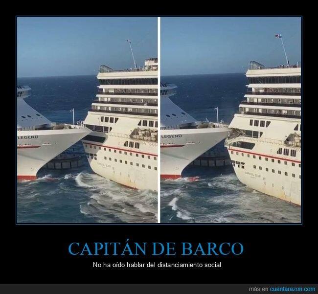 barcos,choque,fails