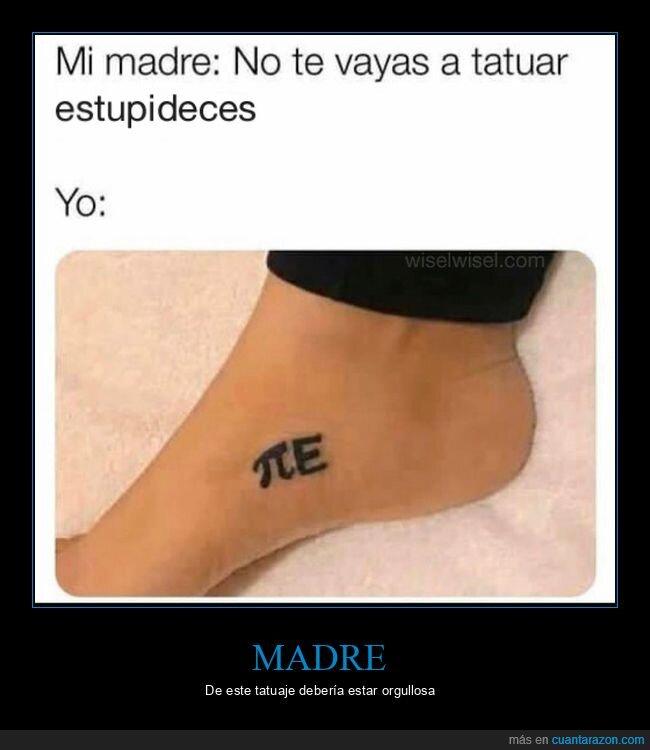 pi,pie,tatuaje