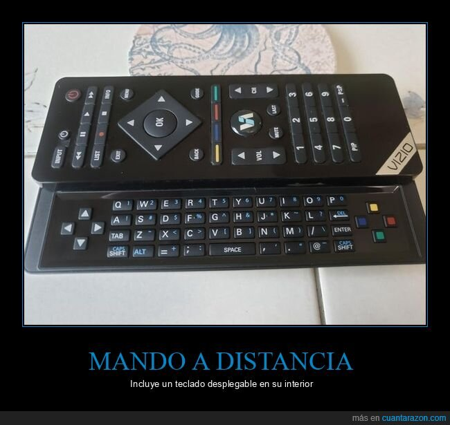 mando a distancia,teclado