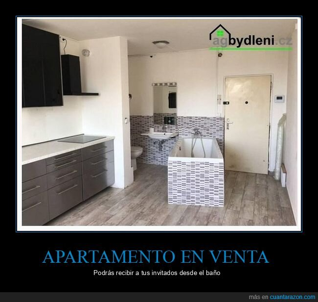 apartamento,bañera,wtf