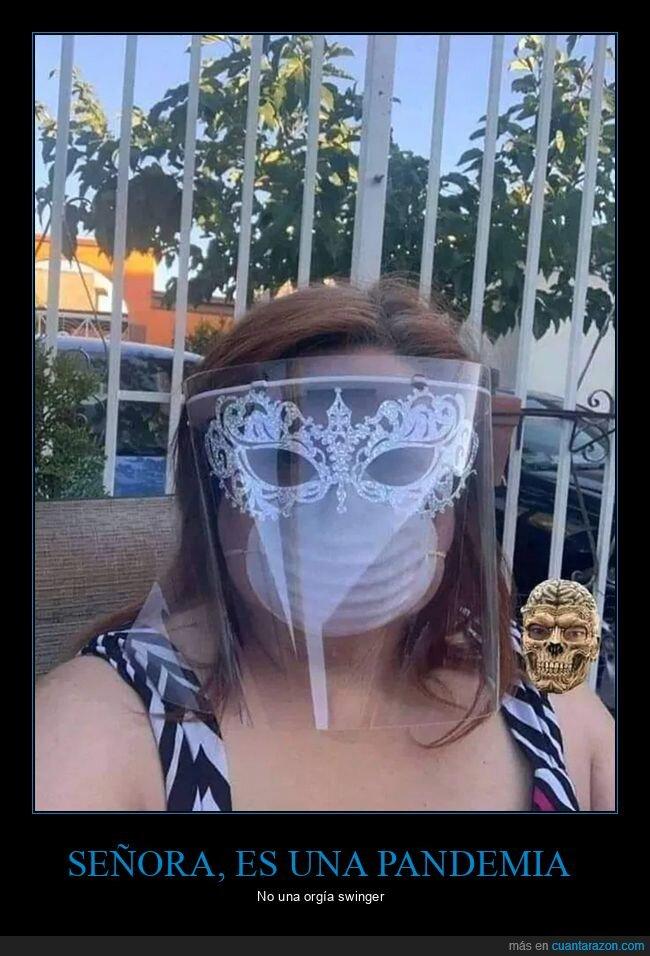 máscara,mascarilla,señoras,wtf