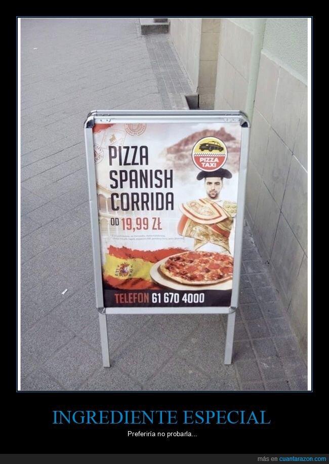 española,pizza,wtf