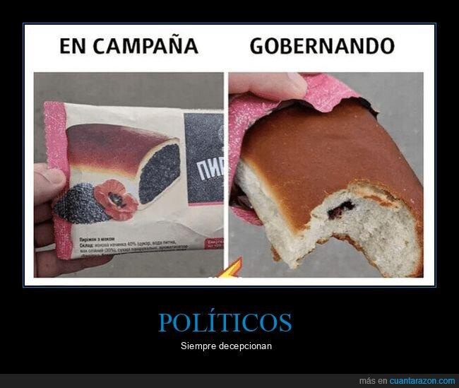 bollo,campaña,chocolate,gobernando,políticos