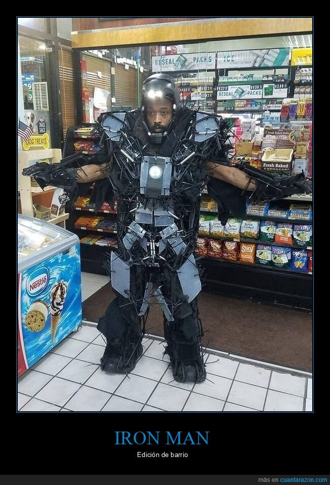 iron man,wtf