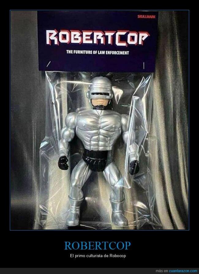 muñeco,robertcop,robocop