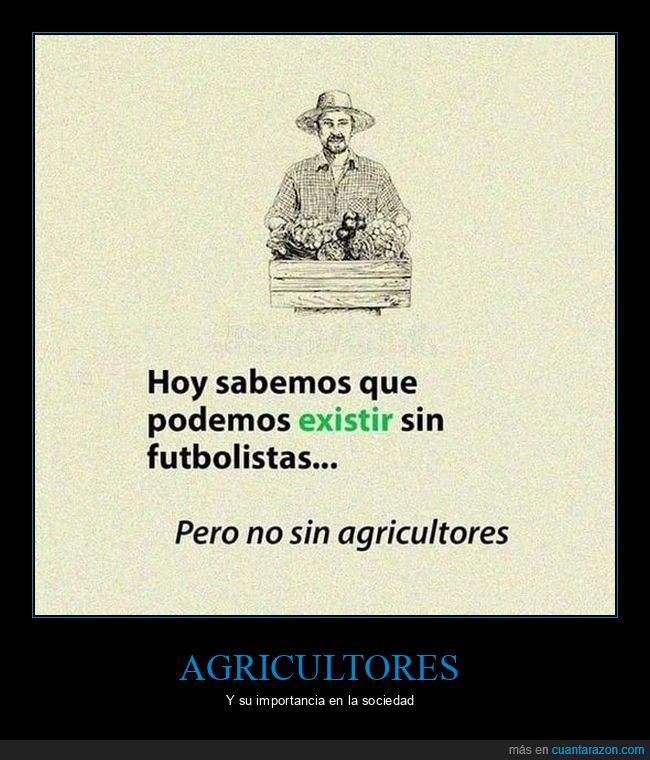 agricultores,futbolistas