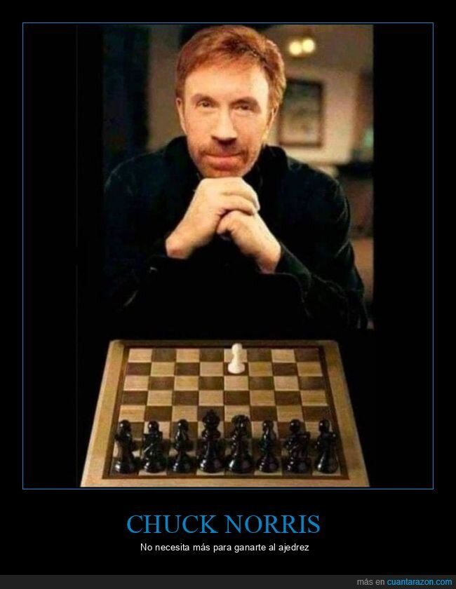 ajedrez,chuck norris
