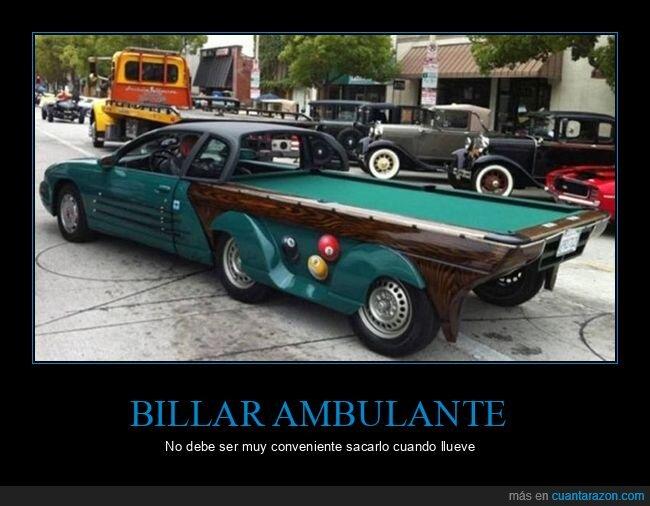 billar,coche,wtf