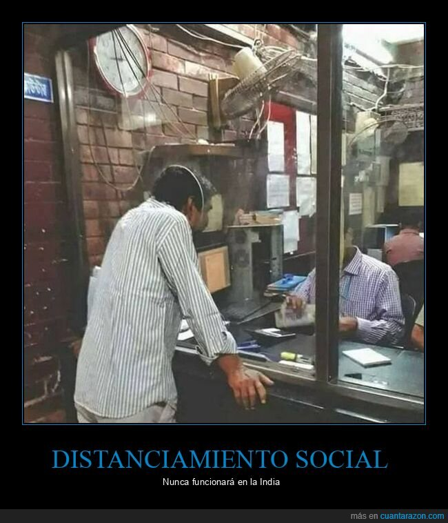 distanciamiento social,india
