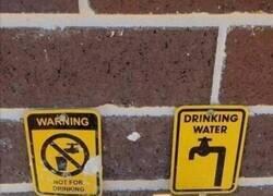 Enlace a Mejor no beber de ninguno por si acaso...