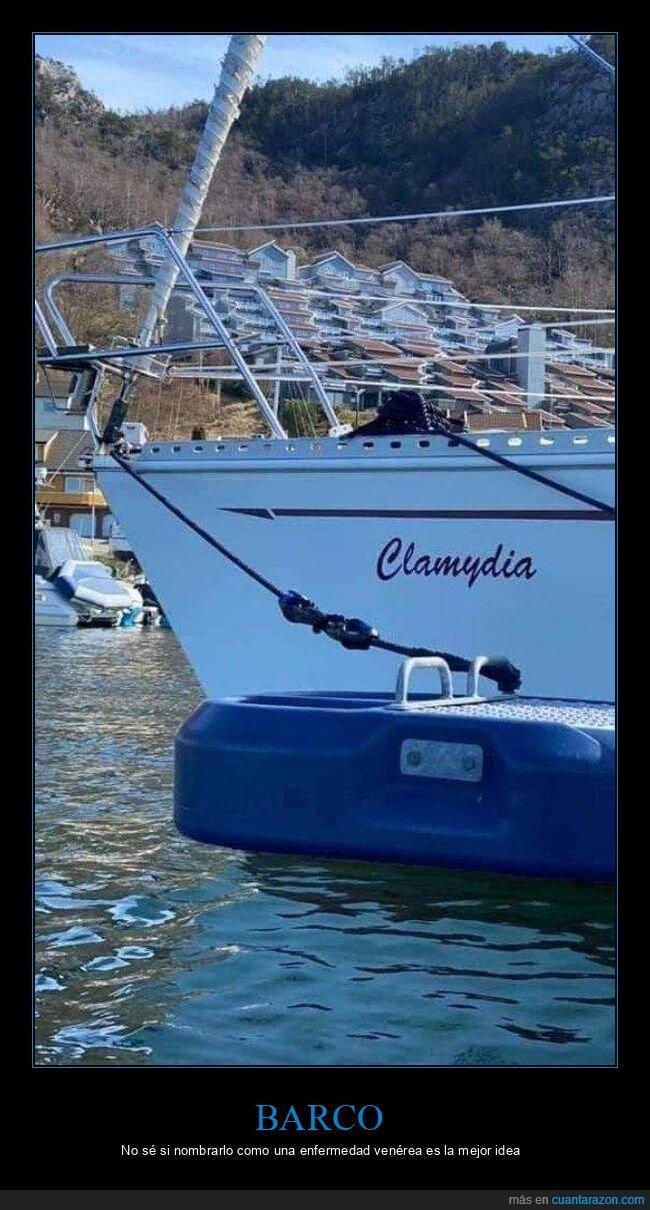 barco,clamidia,nombre