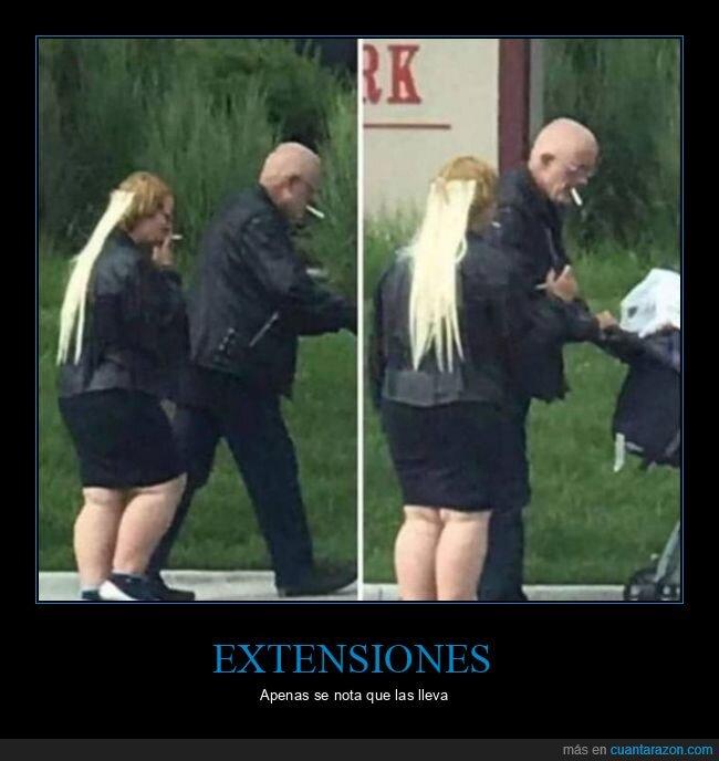 extensiones,pelo,wtf