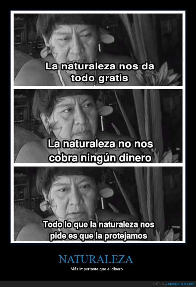 dinero,naturaleza