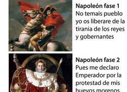 Enlace a Las fases de Napoleón