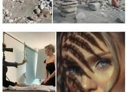 Enlace a Este artista muestra lo que hay tras las cámaras en las fotos perfectas de Instagram