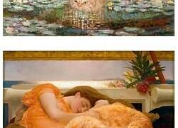 Enlace a Esta dueña mete a su gato naranja en cuadros famosos