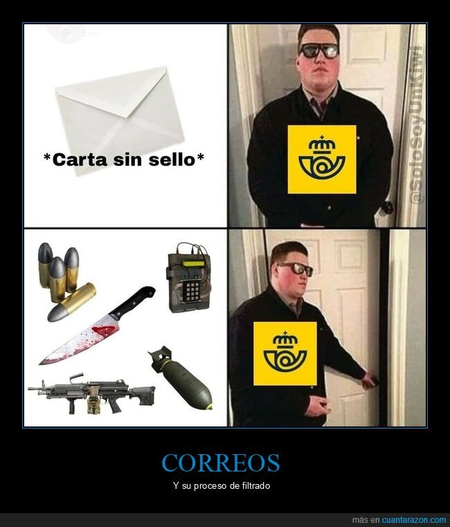 balas,carta,correos,sello