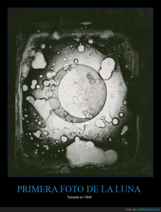 curiosidades,luna,primera foto