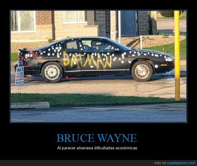 batman,bruce wayne,coche