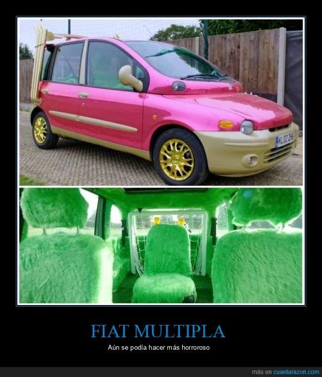 coche,fiat multipla,wtf