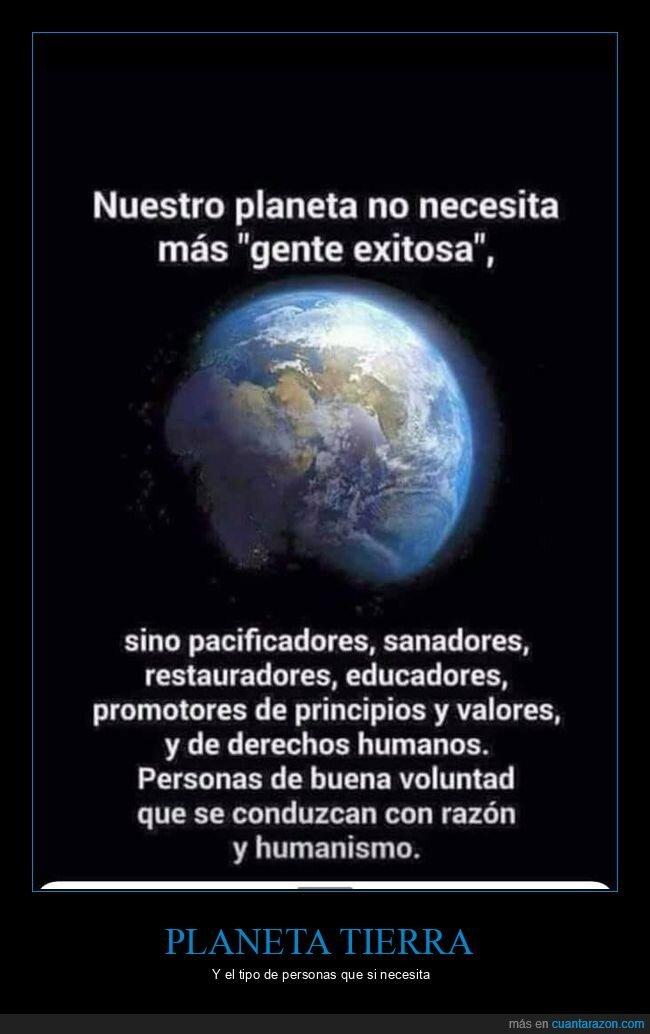 necesitar,planeta
