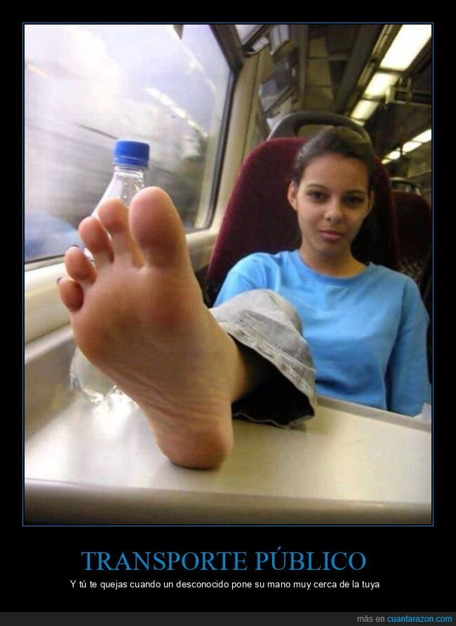 desconocido,pie,transporte público