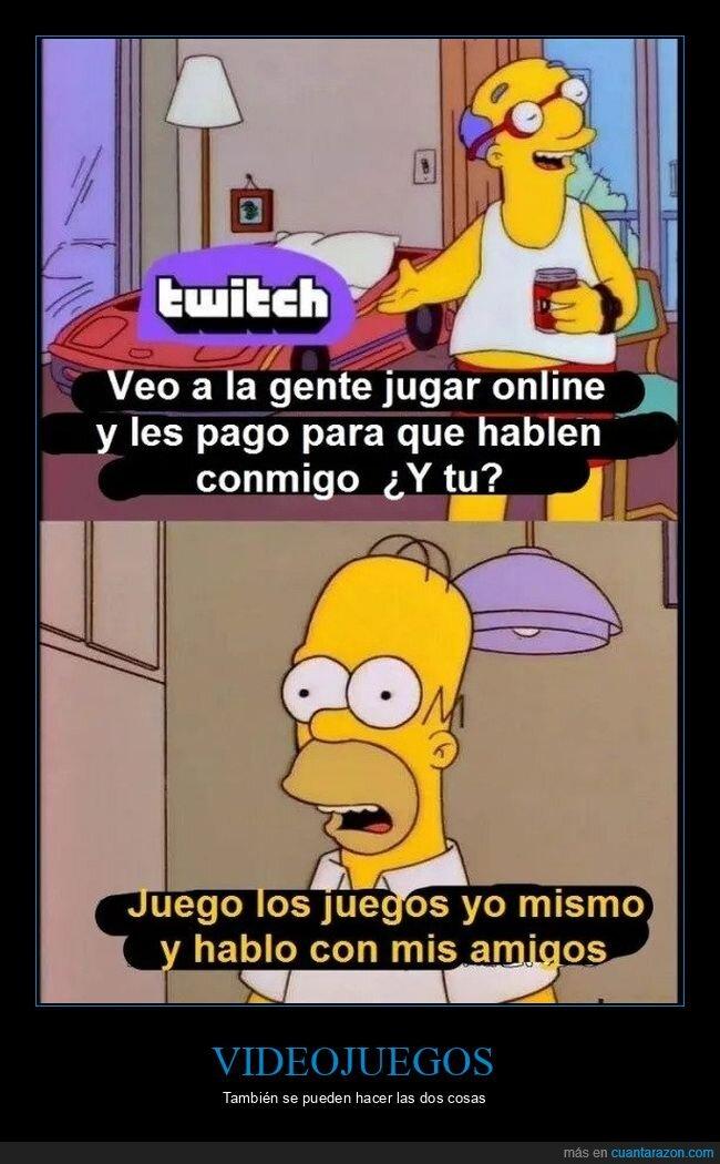 simpsons,twitch,videojuegos
