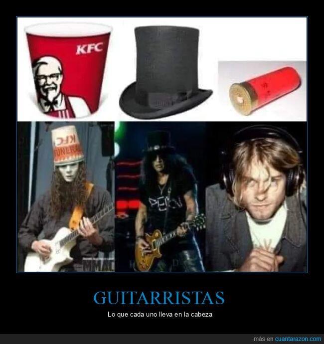 cabeza,cartucho,escopeta,guitarristas,kurt cobain