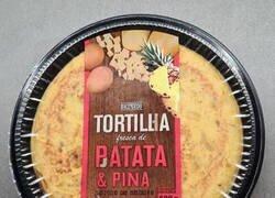 Enlace a Tortilla de patatas y piña