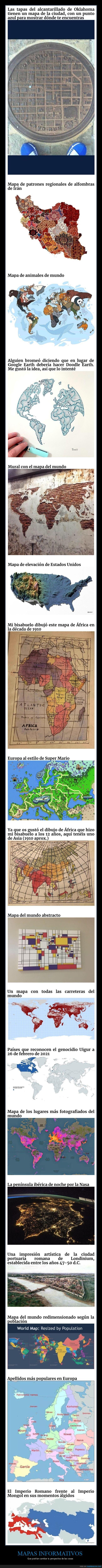 curiosidades,mapas
