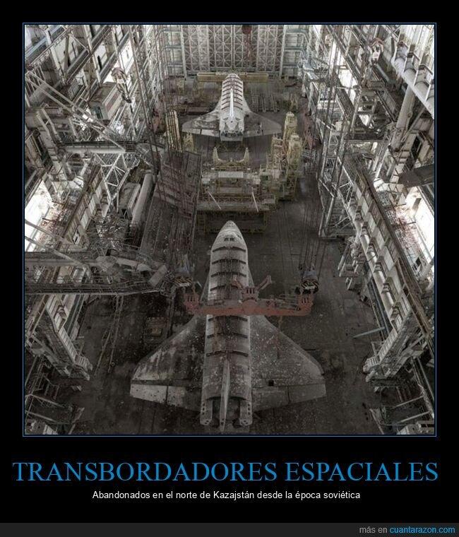 abandonados,kazajstan,transbordadores espaciales