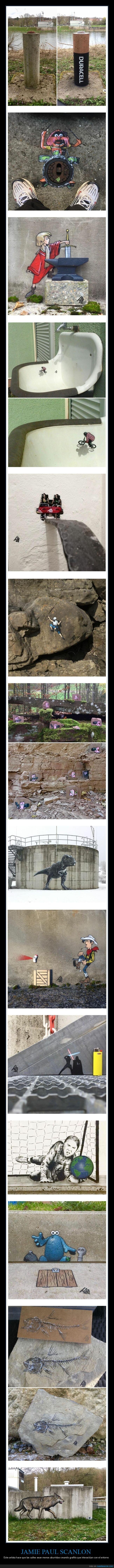 arte urbano,entorno,jamie paul scanlon