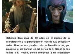 Enlace a Villanos y héroes de películas interpretados por los mismos actores