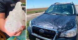 Enlace a El granizo «gorila» golpeó Texas y Oklahoma