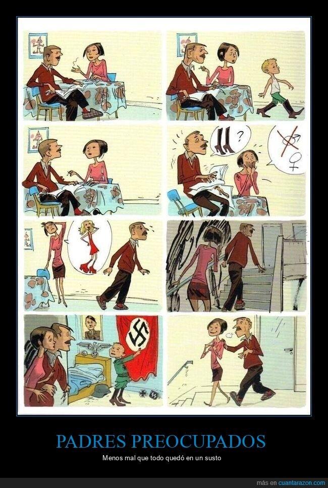 hijo,nazi,padres,preocupados