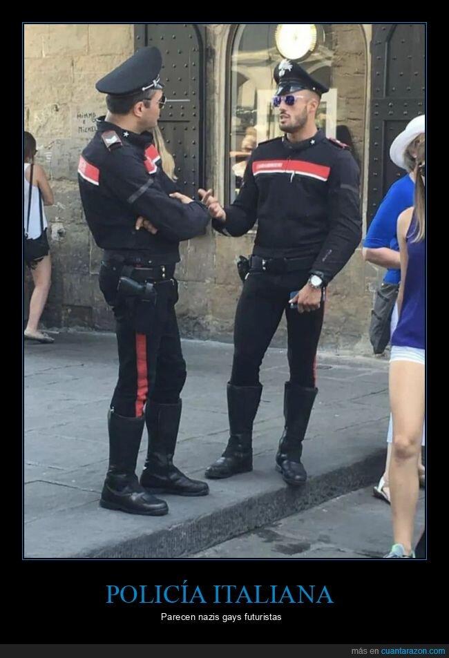gay,italia,nazis,policía,wtf