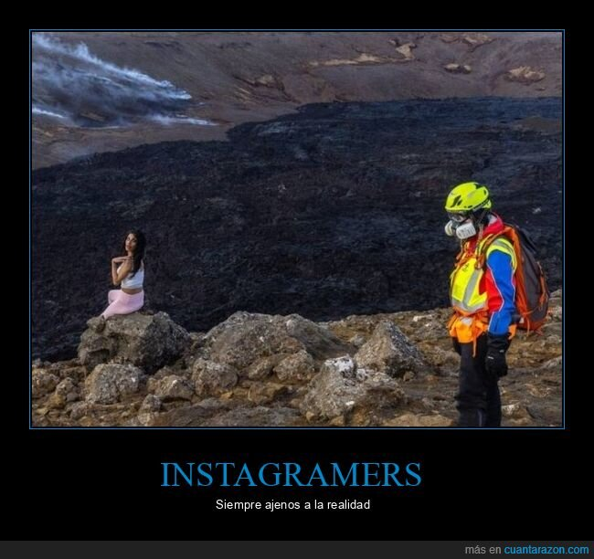 instagramer,volcán,wtf