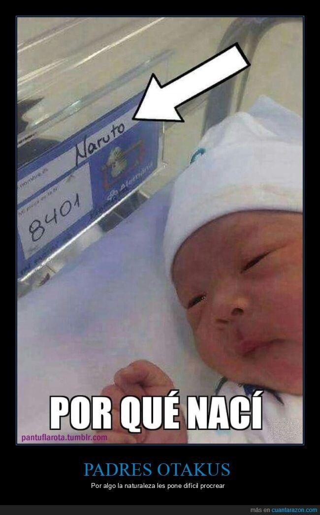 bebé,naruto,nombre,wtf