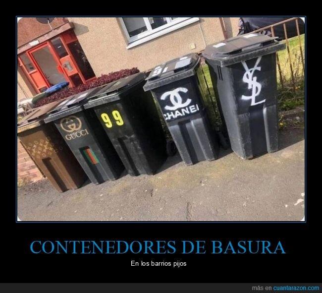 basura,contenedores,marcas