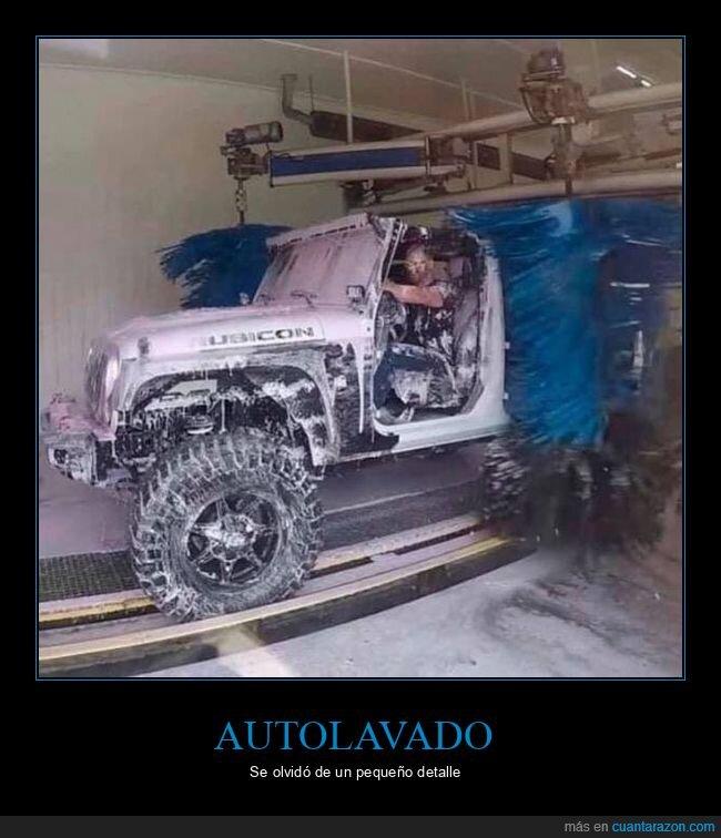 autolavado,coche,fails