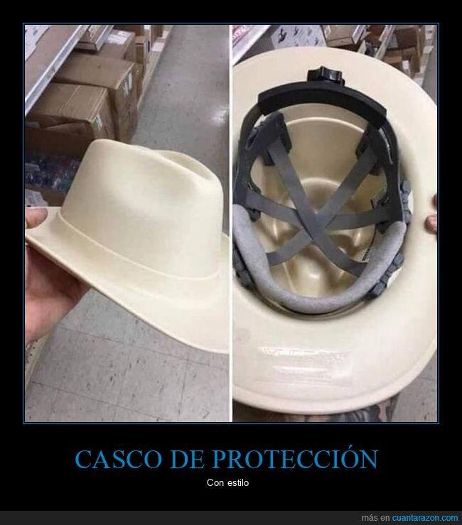 casco,sombrero,wtf